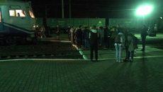 Во Львове блокировали железную дорогу