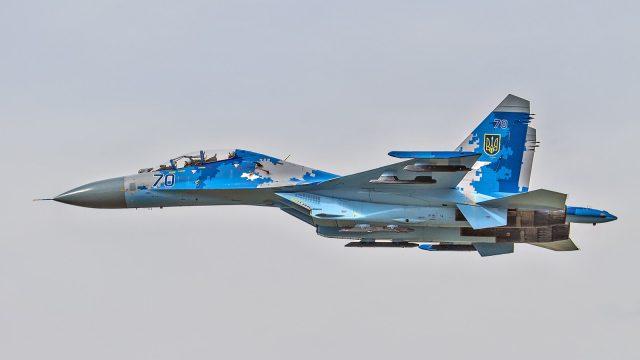 Под Житомиром разбился Су-27