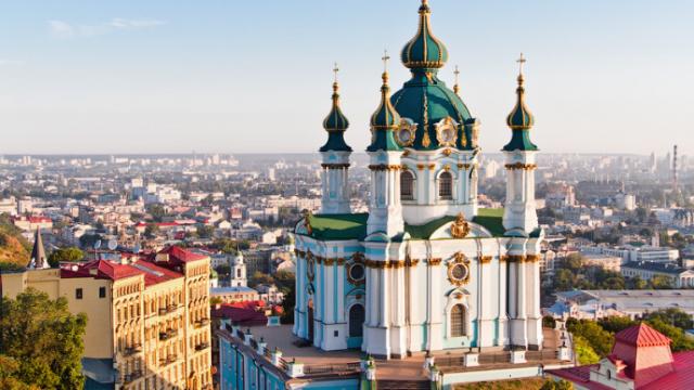 В Киеве открывается Андреевская церковь