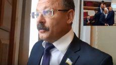 Нардеп Барна обматерил журналиста  в кулуарах ВР