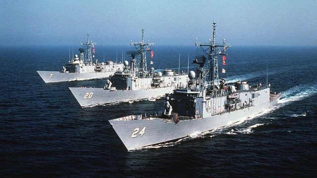 ВМС рассказали об американских фрегатах