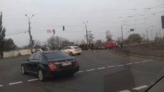 Киев застрял в пробках из-за акций протеста