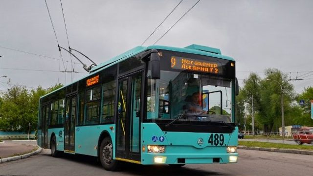 Чернигов купил 6 новых троллейбусов