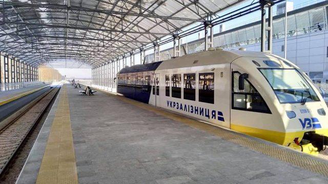 Бориспольский экспресс сломался в первый день работы
