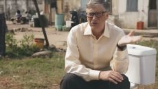 Билл Гейтс представил безводный туалет