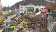 Скандальную стройку на Андреевском спуске в Киеве остановили