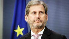 Еврокомиссар Хан едет в Украину