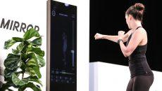 Стартап Mirror — умное зеркало для занятий фитнесом