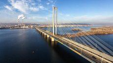 27 января на Южном мосту в Киеве частично ограничат движение транспорта
