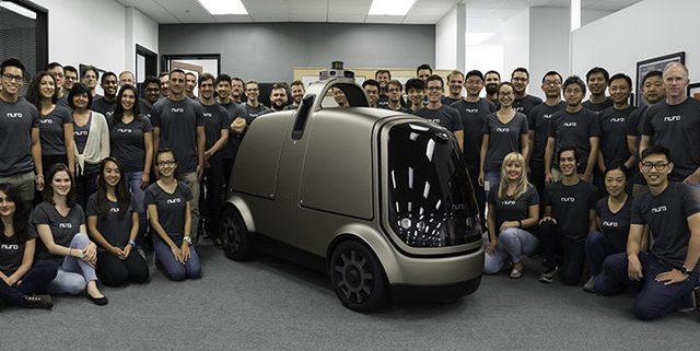 Стартап Nuro запустил беспилотную доставку товаров робомобилями