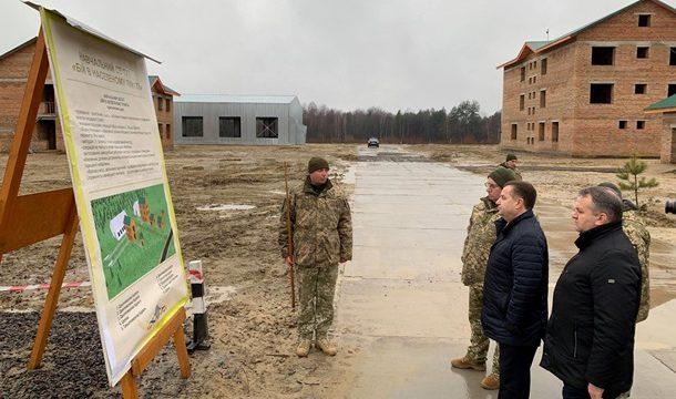 Для армии построен новый учебный полигон