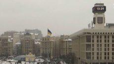 На Майдане в столице заработали главные часы страны