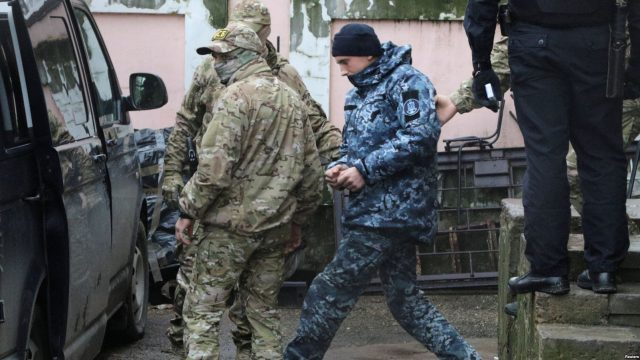 Украина подала в ЕСПЧ заявление относительно пленных моряков