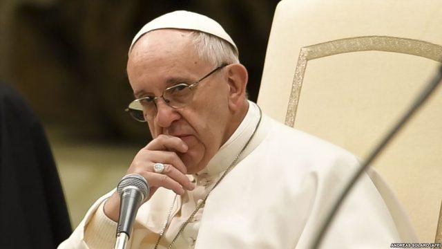 Папа Римский говорил об Украине