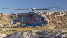 В Украину прибыл третий французский вертолет