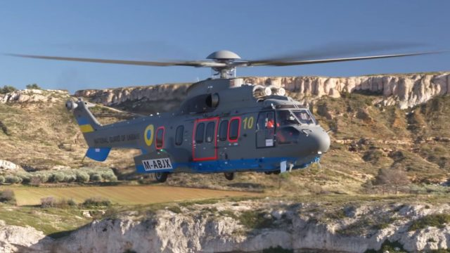 В Украину прилетели первые французские вертолеты для Нацгвардии