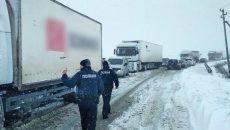 На дорогах Украины заторы
