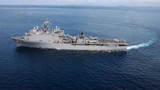 В Черное море зайдет большой десантный корабль ВМС США