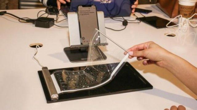 Китайский стартап разработал сворачиваемую клавиатуру