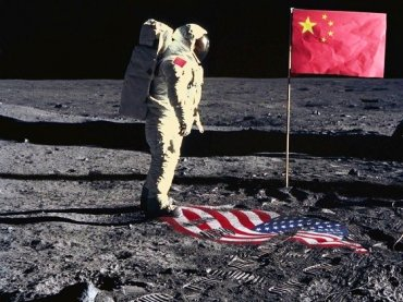 На Луне заметили китайцев