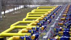 Количество газа в ПХГ уменьшилось