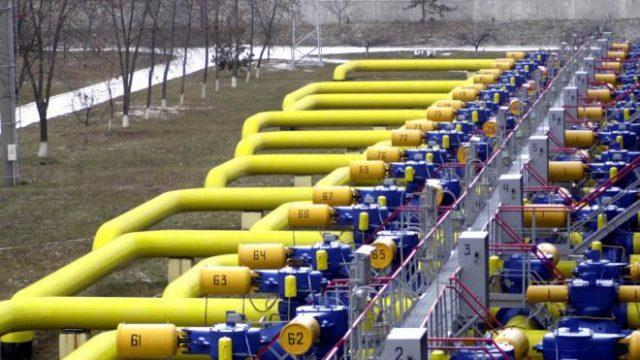 Запасы газа в Украине сократились