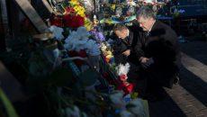 Сегодня Порошенко и Туск почтили память Героев Небесной сотни