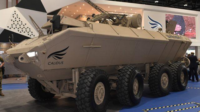 В Абу-Даби презентовали совместный с ОАЭ бронетранспортер