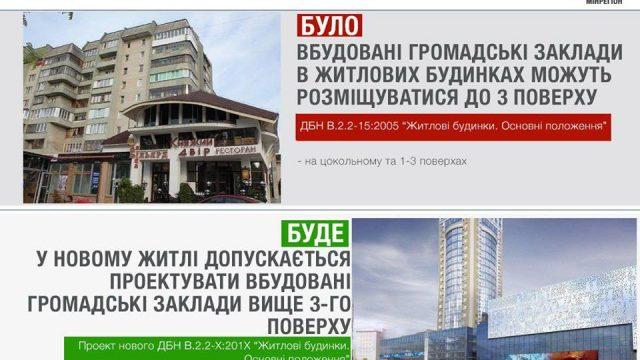 В жилых домах можно будет размещать заведения выше 3-го этажа
