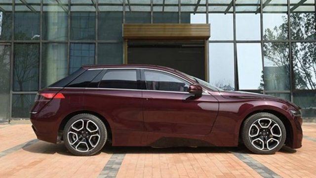 В Китае представили прогрессивный авто