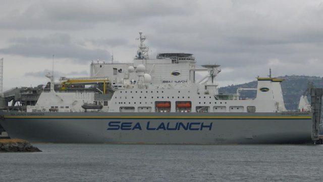 Южмаш продолжает работать с проектом Sea Launch