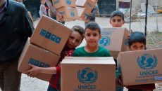 ООН направила гуманитарную помощь на Донбасс