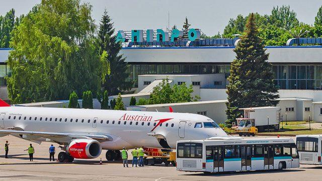 Команда Airport Consulting Vienna представила громаде Днипра результаты оценки площадок для нового аэропорта