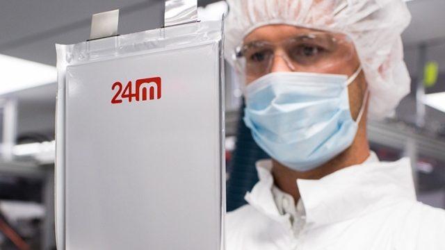 Стартап 24M начал поставки аккумуляторных батарей с плотностью 280 Вт·ч/кг