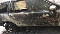 В Днепре главреду газеты сожгли авто