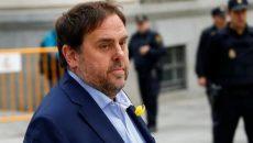 В Парламент Испании прошли лидеры Каталонии