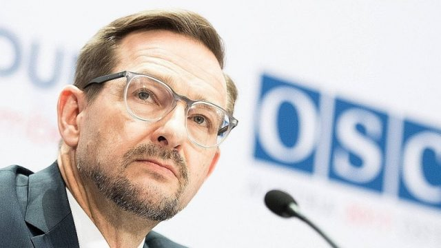 Генсек ОБСЕ выступил за отправку миротворческого контингента на Донбасс