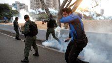 В столице Венесуэлы слышна стрельба