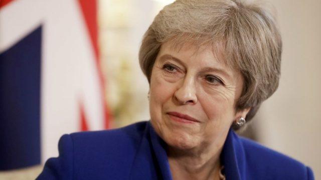 Мэй ушла с главы консерваторов Британии