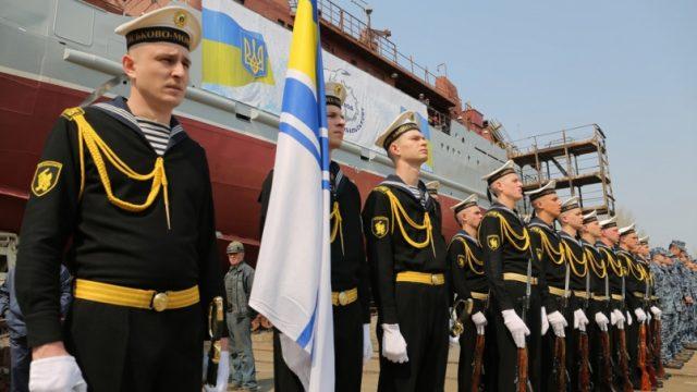 Новый разведывательный корабль для ВМС спущен на воду