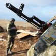 За сутки российские вооружённые формирования на Донбассе семь раз нарушили «режим тишины»
