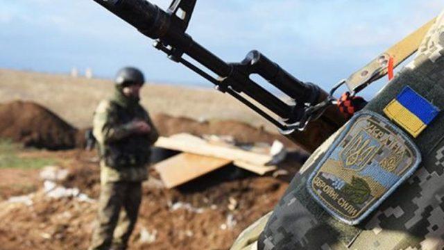 Российские вооружённые формирования на Донбассе 13 раз нарушили