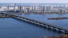 На столичном мосту Патона произошло аварийное проседание