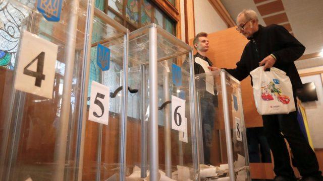 Явка на президентских выборах в Украине составила 63,48%