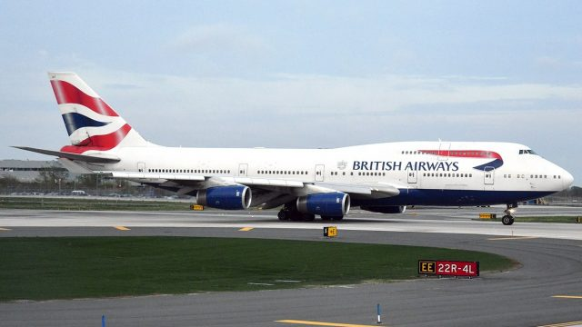 British Airways приостанавливает полеты Киев - Лондон