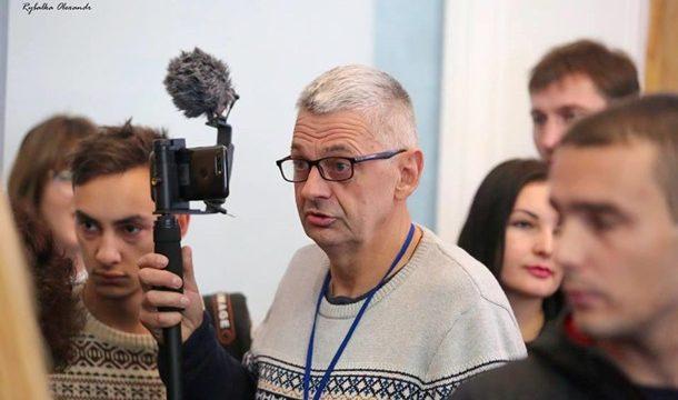 В Черкассах напали на журналиста