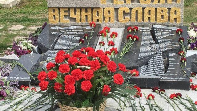 В Севастополе разбили памятник погибшим на войне крымским татарам