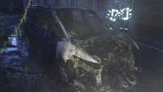 Ночью неизвестные сожгли автомобиль главного редактора телеканала ТВi