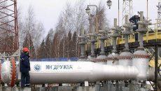 Транзить нефти через Украину значительно упал