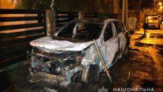 В Ровно сожгли авто секретарю горсовета
